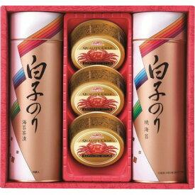【お中元】白子のり 海苔とカニ缶詰合せSN-302E