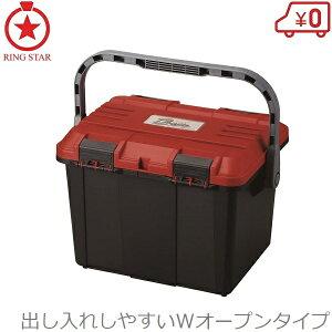 リングスター 工具箱 ツールボックス ドカット D-4700 レッド 大型 工具入れ プラスチック 大容量 赤 ツールケース 道具箱 電動丸鋸