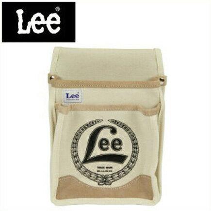 Lee 腰袋 釘袋 ツールバッグ ガーデンバッグ 〔プロ仕様 キャンバスウエストバッグ〕LE-CA2KM