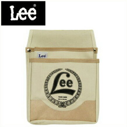 Lee 腰袋 釘袋 ツールバッグ ガーデンバッグ 〔プロ仕様 キャンバスウエストバッグ〕LE-CA3KL