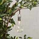 タカショー 電球型 ソーラーライト LGS-H02 [ガーデンライト 屋外 LEDライト 照明 おしゃれ 庭 置物 ランタン]