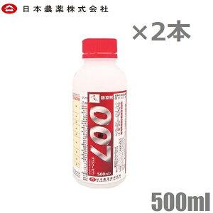 日本農薬 除草剤 強力 サンダーボルト007 500ml 2本セット 1L 噴霧器 散布機 液体 液剤