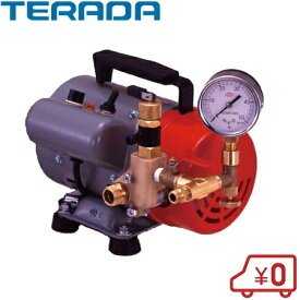 【送料無料】寺田ポンプ 水圧テストポンプ 電動 PP-401T 400W