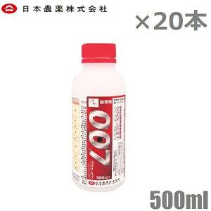 日本農薬 除草剤 強力 サンダーボルト007 10L 500ml×20本セット 噴霧器 散布機 液体 液剤