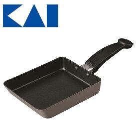 貝印 ねこの玉子焼き器 ねこ 猫 黒猫 卵焼き器 フライパン かわいい おしゃれ IH対応 キッチン用品