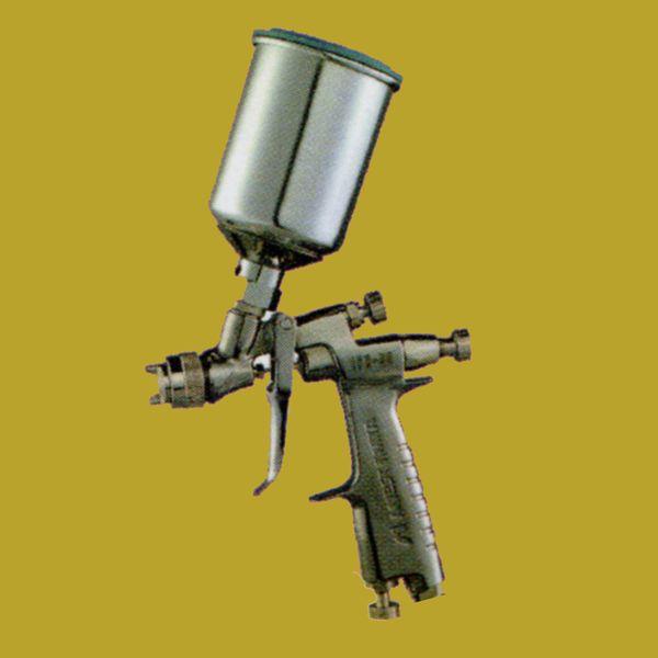 (K)アネスト岩田(イワタ)スプレーガン LPH-80-122G+PCG-2D-1 重力式 ノズル口径:1.2mm 150mlセンター塗料カップ付きセット