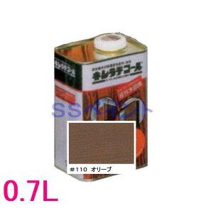 キシラデコール 屋外用 油性 高性能木部保護塗料 色:#110 オリーブ 0.7L