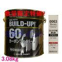 (数量限定)ロックペイント 057-0810 ロックパテ ビルドアップ60(超厚付用) 057-0063硬化剤付きセット 3.08kgセ…