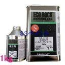 自動車塗料 ロックペイント 149-6150 エコロックハイパークリヤーS 硬化剤付セット 1kg