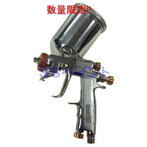 (数量限定)(K) 明治 meiji スプレーガン F-ZERO TypeR 塗料カップ4GF-U付セット 重力式 ノズル口径:1.4mm