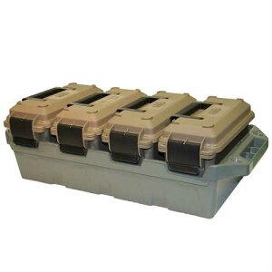 MTM 4-Can AMMO CRATE 4個入りセット アモ クレート ミニボックス ガレージ 弾薬ケース 工具箱 アメリカ USA ツールボックス ツールBOX 米軍 アメリカン雑貨 アウトドア キャンプ用品 収納ケース