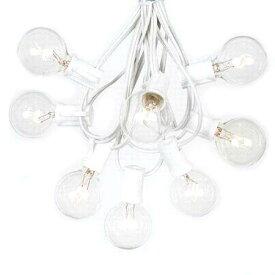 Outdoor Lighting Patio String Lights White 100球 G40 E12 30m アウトドアーライティング パティオストリングライト ホワイト・イルミネーション・ライト・電飾・業務用・・ガーランドライト・ランプ・アメリカ・ガーデンライト・モチーフ