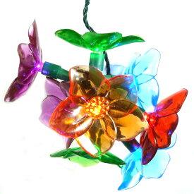 Flower Light SetバッテリーフラワーLEDライト・花・LED・ガーデン・ランプ・ストリングライト・ガーデンライト・アメリカ・USA・ガーランドライト・モチーフ