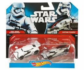 Hot Wheels Star Wars: The Force Awakens Stormtrooper vs. Captain Phasma  スターウォーズ・starwars・ダイキャスト・ミニカー・スターウォーズグッズ・hotwheels・ホットウィールズ・アメリカ・USA・コラボ