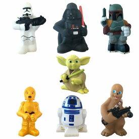 Star Wars Squeeze Toy Set スターウォーズ 7体セット starwars フィギア キッズプレイセット アメリカ