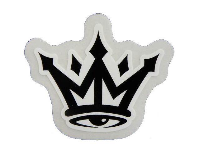 MAFIOSO Icon Sticker 2インチ Black マフィオソ・王冠・ステッカー・CA・カリフォルニア・アメリカ・マフィア・USA