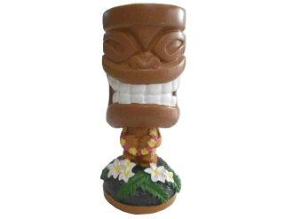 Bahama&Co Tropical TIKI Air Freshener巴哈馬·pinyakorada·tiki·夏威夷·Fra·purumeria、芳香劑、furesshuna、車、kafuresshuna、頭頸樣子玩偶、儀表板·多爾