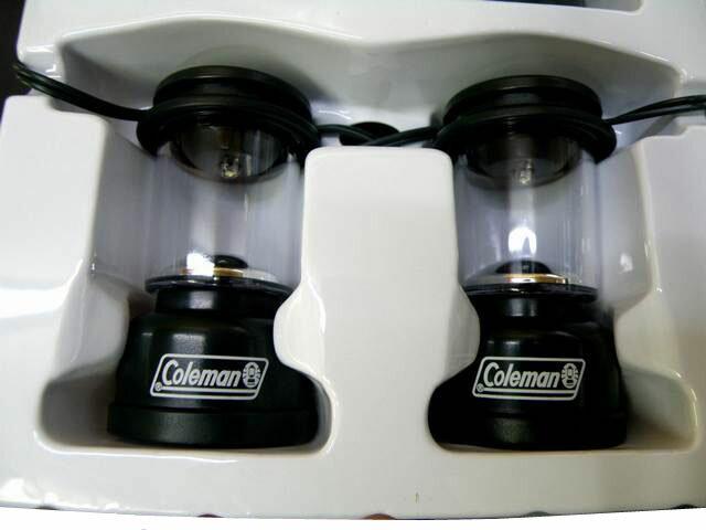 **Coleman LED STRING LIGHTSコールマン・LEDライト・ミニチュアランタン・お庭・ガーデニングライト・ランプ・ストリングライト・アメリカ・電飾・ガーデンライト・ガーランドライト・モチーフ