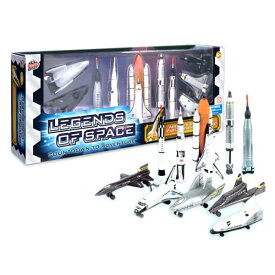 LEGENDS OF SPACE 10 PIECE SET TOYS BY ECHO TOYS・NASA・スペースシャトル・ロケット・おもちゃ・アメリカ・乗り物・キッズ・ナサ・TOY・アメリカ