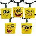 Sponge Bob Party String Lights クリスマス・イルミネーション・ライト・電飾・スポンジボブ・パーティーライト・アメリカ・ストリングラ...