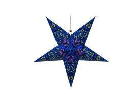"""Paper Star Lantern 24"""" ペイズリー スター・ペーパーランタン ガーデニング・イルミネーション・ライト・電飾・オープンカフェ・業務用・ガーデン・庭・南国・パーティ・星"""