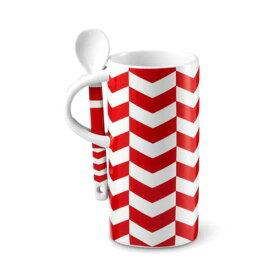 Chevron Pattern Mug with Spoon, 8 fl oz USA スターバックス シェブロン パターンマグ starbucks マグカップ starbucks シェブロンパターンマグ USA スターバックス
