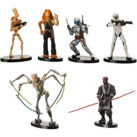 Disney Parks Star Wars Prequel Collection Figure Set スターウォーズ 6体セット starwars ダースモール フィギュア フィギア プレイセット アメリカ