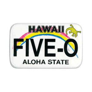 Hawaii Five-O License Plate Magnet ハワイ ファイブオー ライセンスプレート マグネット マグネット アメリカ ハワイアン ハワイ アロハ トロピカル