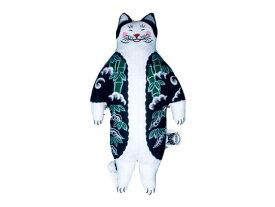 MONMON CATS Tiger Cat Plush Doll モンモンキャット・人形・ドール・ぬいぐるみ・猫・入れ墨・刺青・イレズミ・tattoo・タトゥー・ねこ・ネコ・虎・トラ・アメリカ・カリフォルニア・