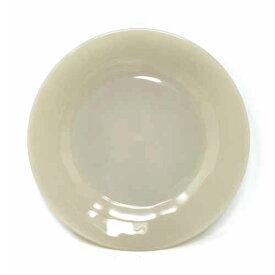【希少】Fire King Ivory Dinner Plate 1700 Line ファイヤーキング アイボリー ディナープレート 1700ライン 海外輸入中古品 Fire King Anchor Hocking ファイアーキング USA ビンテージ アメリカ アメリカン GLASS刻印