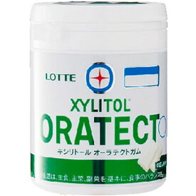 キシリトール オーラテクトガム クリアミント 143g ( 特定保健用食品 )( ロッテ ) [ トクホ 特保 歯の健康 歯の健康維持 おすすめ ]