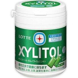 キシリトールガム ライムミント ファミリーボトル 143g ( 特定保健用食品 )( ロッテ ) [ トクホ 特保 歯の健康 歯の健康維持 おすすめ ]