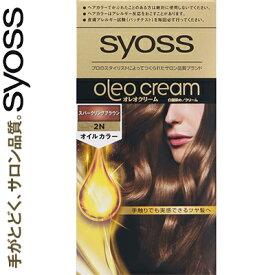 サイオス オレオクリームヘアカラー 2N-スパークリングブラウン 50g+50g ( 医薬部外品 )( シュワルツコフヘンケル サイオス ) [ ヘアカラー おしゃれ 低刺激 白髪 白髪染め 白髪隠し おすすめ ]