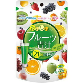 おいしいフルーツ青汁 3g×7包 ( ユーワ )