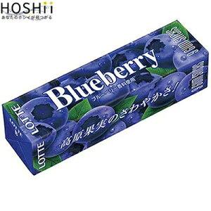 ブルーベリーガム 9枚×15 ( ロッテ ) [ 菓子 ガム グミ ソフトキャンディ おすすめ ]