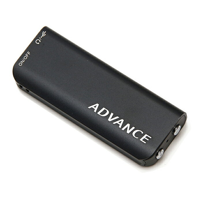超小型 ボイスレコーダー 24時間連続録音 アドバンス ADVANCE 8GBメモリ 1年保証 小型 高音質 長時間 録音機 ボイスレコーダー ICレコーダー 送料無料 IC-001A(バージョンアップ版)