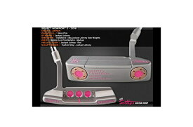 ★PUTTER OF THE DAY 2016ALL PINK Jackpot Johnny 刻印★特注!キャメロン カスタムショップ2016 シルバーセレクト NP2Jackpot Johnny 刻印 30gx233in/D4