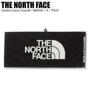 THE NORTH FACE ノースフェイス Comfort Cotton Towel M コンフォートコットンタオル NN22101 K ブラック