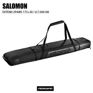 SALOMON サロモン EXTEND 2PAIRS 175+20 エクステンド2ペアスキーケース LC1206100 BLACK ケース類 スキーケース ST