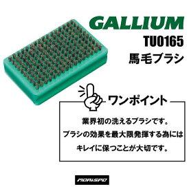 GALLIUM ガリウム 馬毛ブラシ TU0165   スキー スノーボード ボード