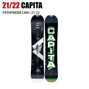 2022 CAPITA キャピタ PATHFINDER パスファインダー 21-22 オールラウンド パーク グラトリ ボード板 スノーボード ST