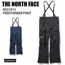 THE NORTH FACE ノースフェイス NS51913 FREETHINKER PANT 19-20 ボードウェア FUTURE LIGHT フューチャーライト パン…