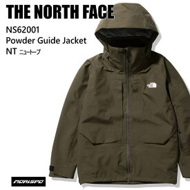 THE NORTH FACE ノースフェイス ウェア NS62001 POWDER GUIDE JK 20-21 NT ボード スキー GORE-TEX メンズ ジャケット ゴアテックス ST