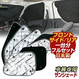 エブリィバン(DA17V)(H27/02〜)車 サンシェード サンシェード(1台分フルセット)日よけ 車中泊 吸盤 遮光 目隠し