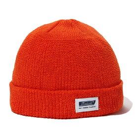 【RADIALL】ラディアル【C-10 WATCH CAP】Orange 【ニット帽】帽子【折り返し】ビーニー【ネコポス対応可】