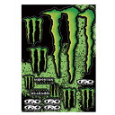 【MONSTER ENERGY】モンスターエナジー【FACTORY EFFEX】STICKER SHEETS【Sticker】DTYPE SIZE:タテ50cm...