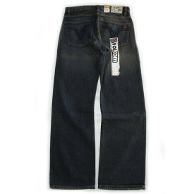 【VOLCOM】ボルコム【BLACK ZIP JEAN】TBG【RELAXED STRAIGHT LEG】デニム【ジーンズ】正規品【12000】