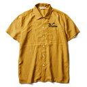 【Softmachine】ソフトマシーン【GOD SHIRTS S/S】Yellow【半袖シャツ】ソフトマシン【送料無料】