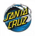 【Santa Cruz】サンタクルーズ【Wave Dot Decal 3inch】約8cm【SKATEBOARD】スケボー【スケート】ステッカー【ネコポス対応】
