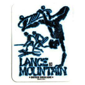【POWELL PERALTA】パウエル ペラルタ【Lance Mountain Sticker Blue】H 11.5cm x W 8.9cm【SKATEBOARD】スケボー【ステッカー】BONES BRIGADE【ネコポス対応可】
